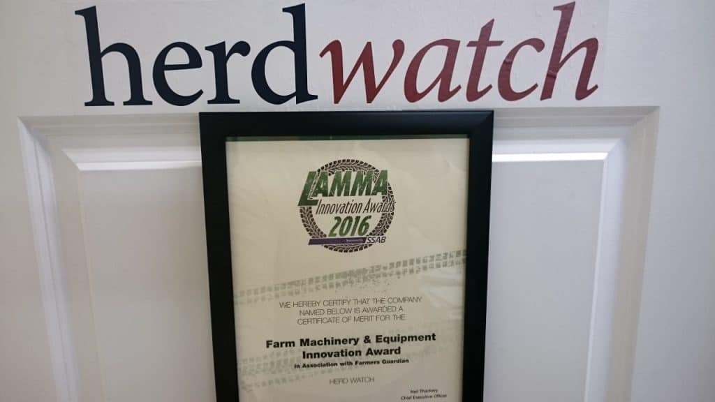 Herdwatch LAMMA Award 2016