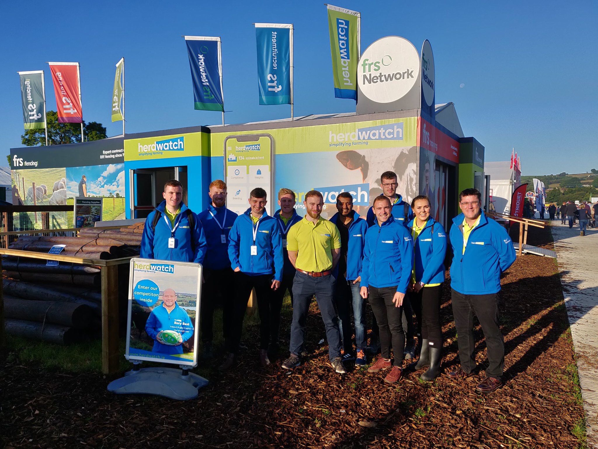 The Herdwatch team out in force at the National ploughing Championships 2019